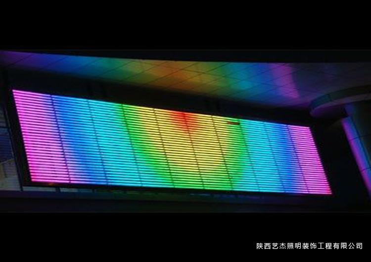 LED炫彩屏1